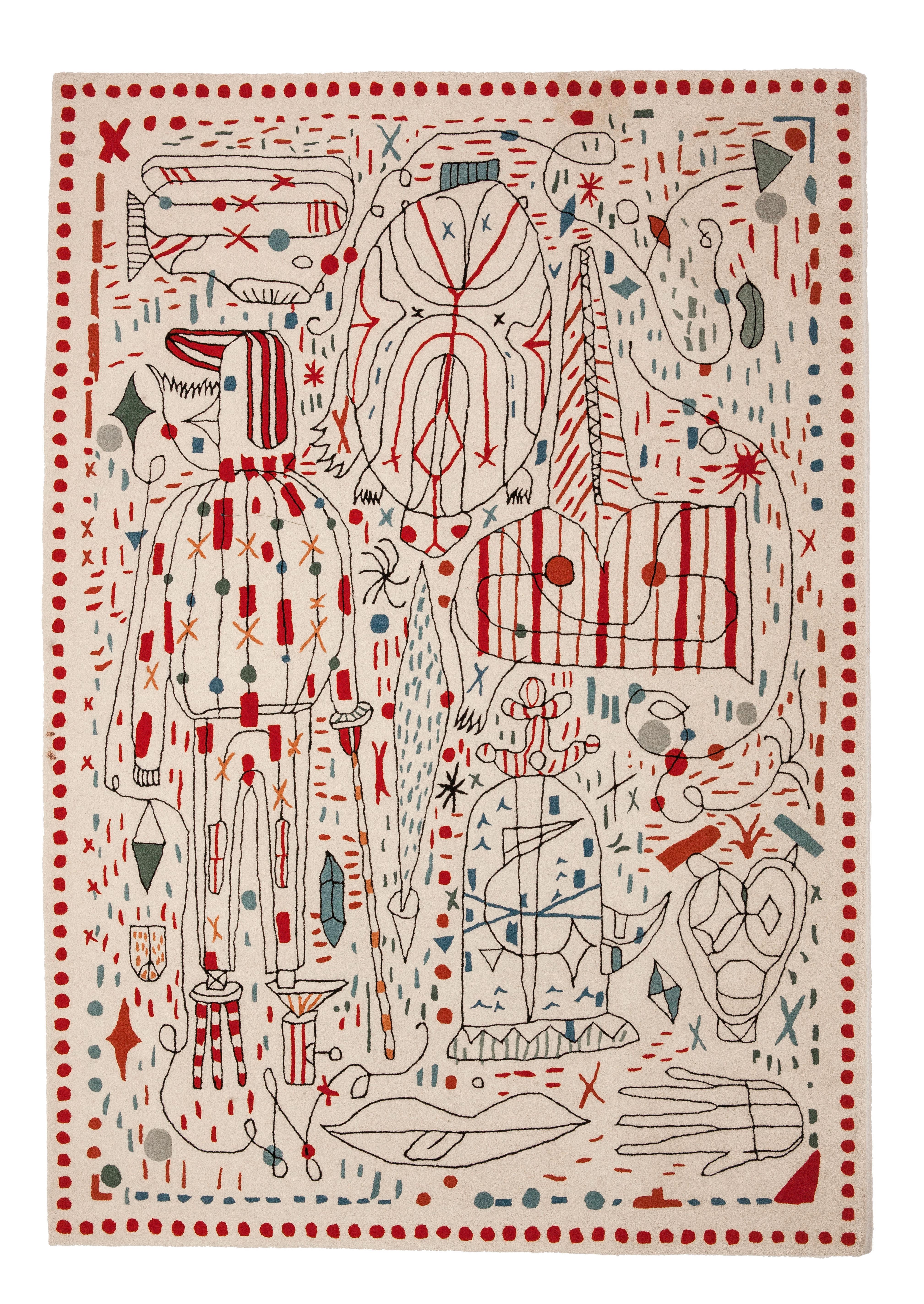 Déco - Tapis - Tapis Hayon x Nani / 170 x 240 cm - Nanimarquina - Multicolore - Laine de Nouvelle-Zélande