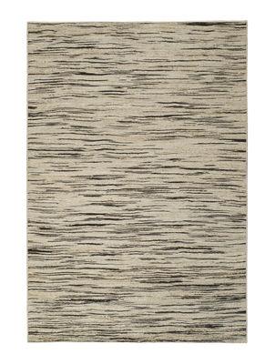 Déco - Tapis - Tapis Stromboli / 170 x 240 cm - Toulemonde Bochart - Beige naturel & noir - Coton, Jute