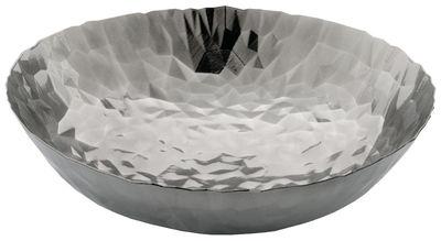 Tischkultur - Körbe, Fruchtkörbe und Tischgestecke - Joy n.11 Tischgesteck / Ø 37 cm - Alessi - Stahl glänzend - Acier inoxydable 18/10