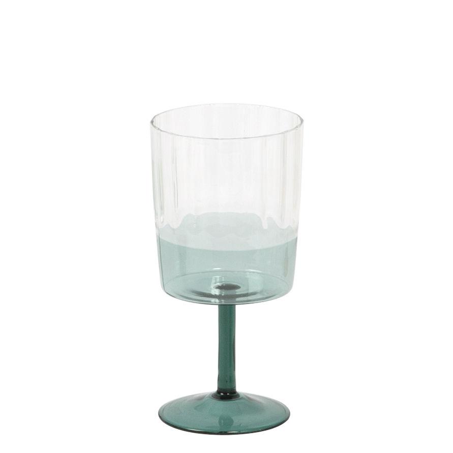 Tableware - Wine Glasses & Glassware - 1001 Nuits Wine glass - / Blown glass by Maison Sarah Lavoine - Sarah blue - Blown glass