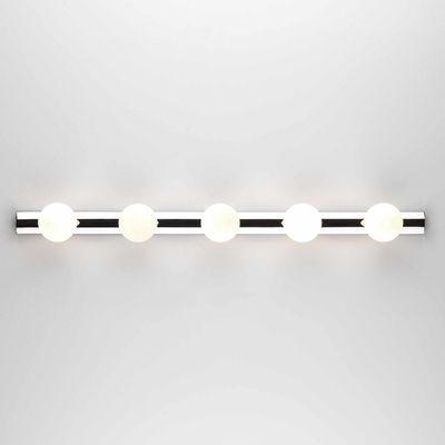 Applique Cabaret Five / L 70 cm - Interrupteur à tirette - Astro Lighting blanc,chromé en métal