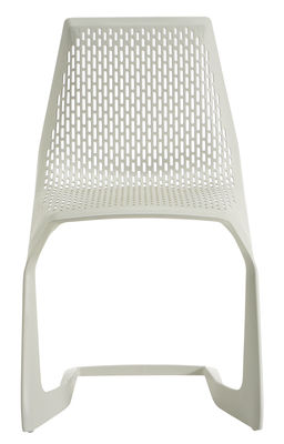 Chaise empilable Myto / Plastique - Plank blanc en matière plastique