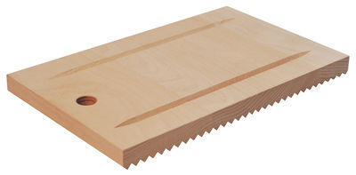 Kitchenware - Kitchen Equipment - Recto-verso Chopping board - 32 x 19 cm by L'Atelier du Vin - Natural wood - Steam beech