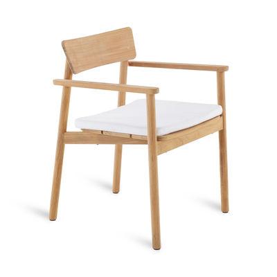 Image of Cuscino per seduta - / Per Poltrona Pevero di Unopiu - Bianco - Tessuto