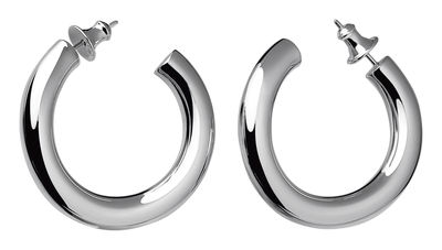 Accessories -  Jewellery - Collection 925 - Créoles Earrings - By Andrée Putman by Christofle - Silver - Solid silver