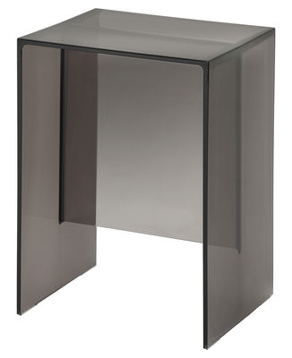 Furniture - Coffee Tables - Max-Beam End table by Kartell - Smoke - PMMA