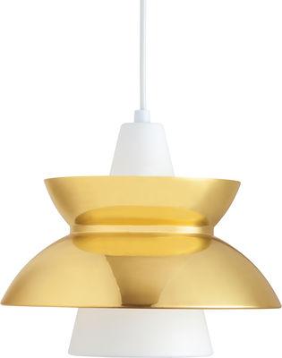 Lighting - Pendant Lighting - Doo-Wop Pendant - Brass version by Louis Poulsen - Brass - Aluminium