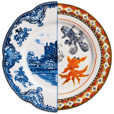 Tableware - Plates - Hybrid Isaura Plate - Ø 27,5 cm by Seletti - Isaura - China