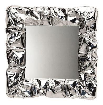 Interni - Specchi - Specchio murale Tabu.U - / 50 x 50 cm di Opinion Ciatti - Cromato - Alluminio