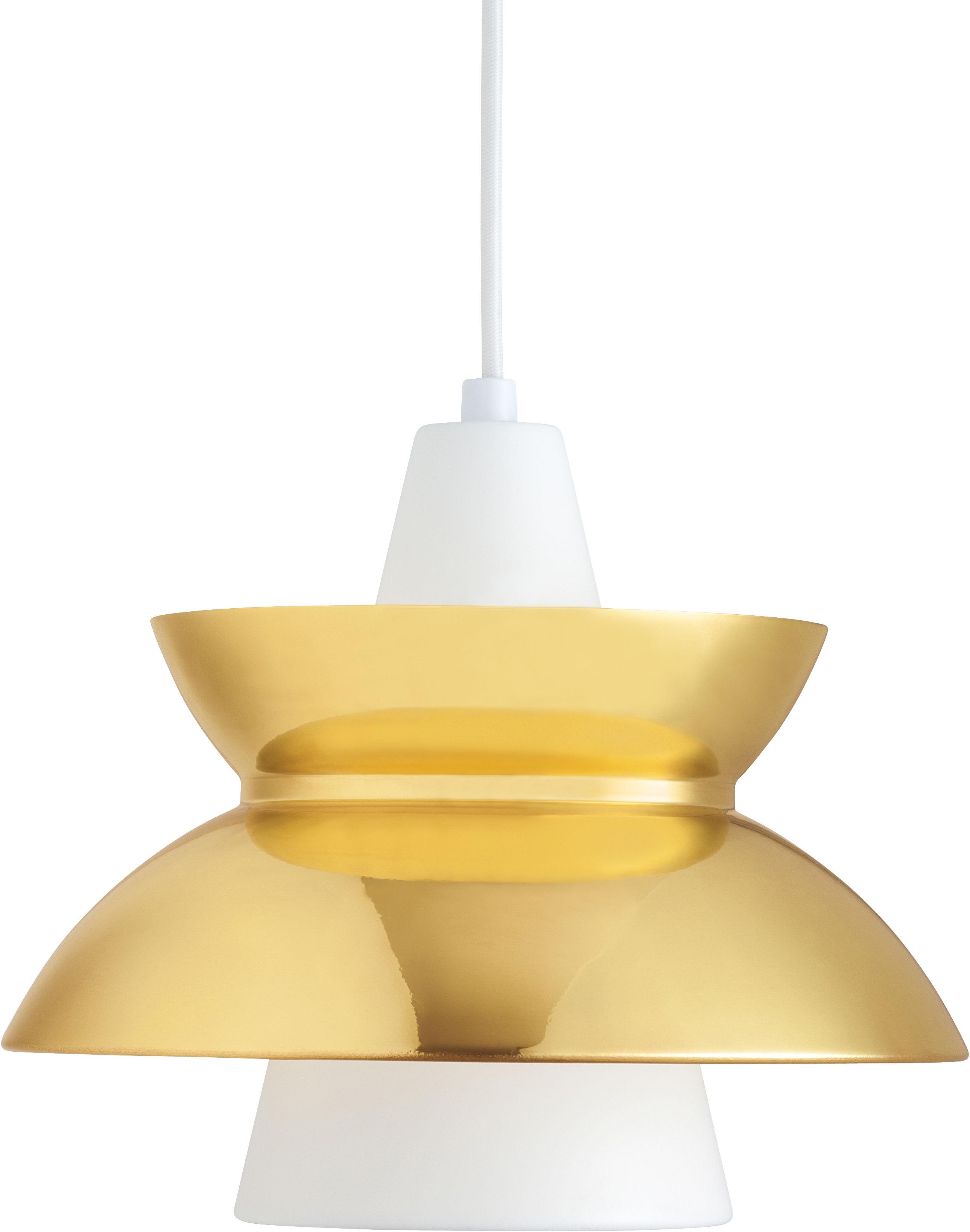 Luminaire - Suspensions - Suspension Doo-Wop / Version laiton - Louis Poulsen - Laiton - Aluminium