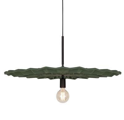 Luminaire - Suspensions - Suspension Fold / Ø 84 cm - Feutre - Northern  - Vert - Feutre de laine