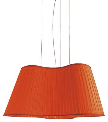 Suspension La Suspension Etoile L 90 cm - Dix Heures Dix rouge en tissu