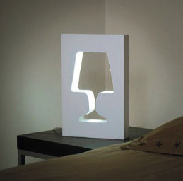 Lighting - Table Lamps - Outlight Table lamp by La Corbeille - White - Lacquered MDF