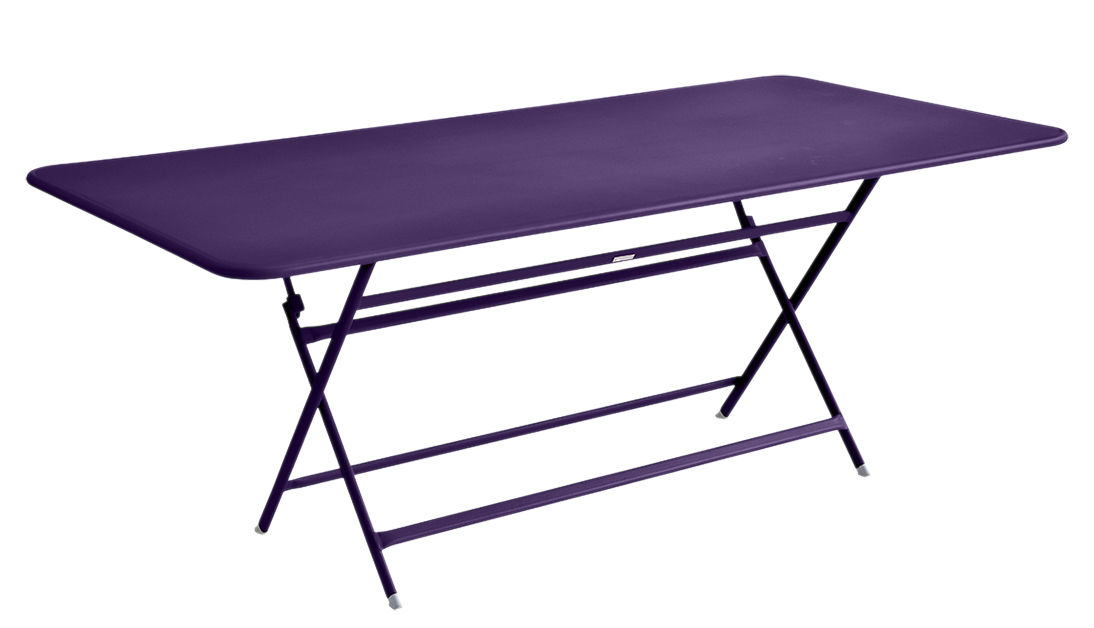Table pliante Caractère Fermob - Aubergine - h 74   Made In Design