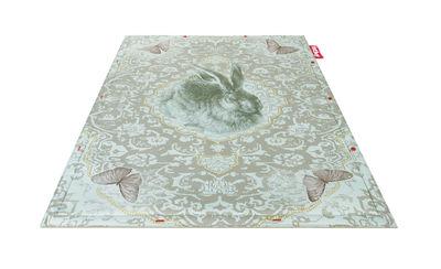 Non Flying Carpet Teppich / Roger - 180 x 140 cm - Fatboy - Blaugrün