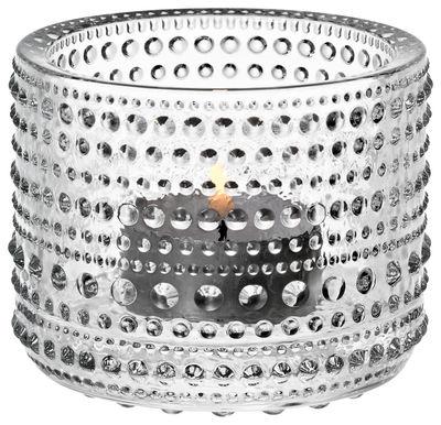 Dekoration - Kerzen, Kerzenleuchter und Windlichter - Kastehelmi Windlicht / H 6,4 cm - Iittala - Transparent - geblasenes Glas