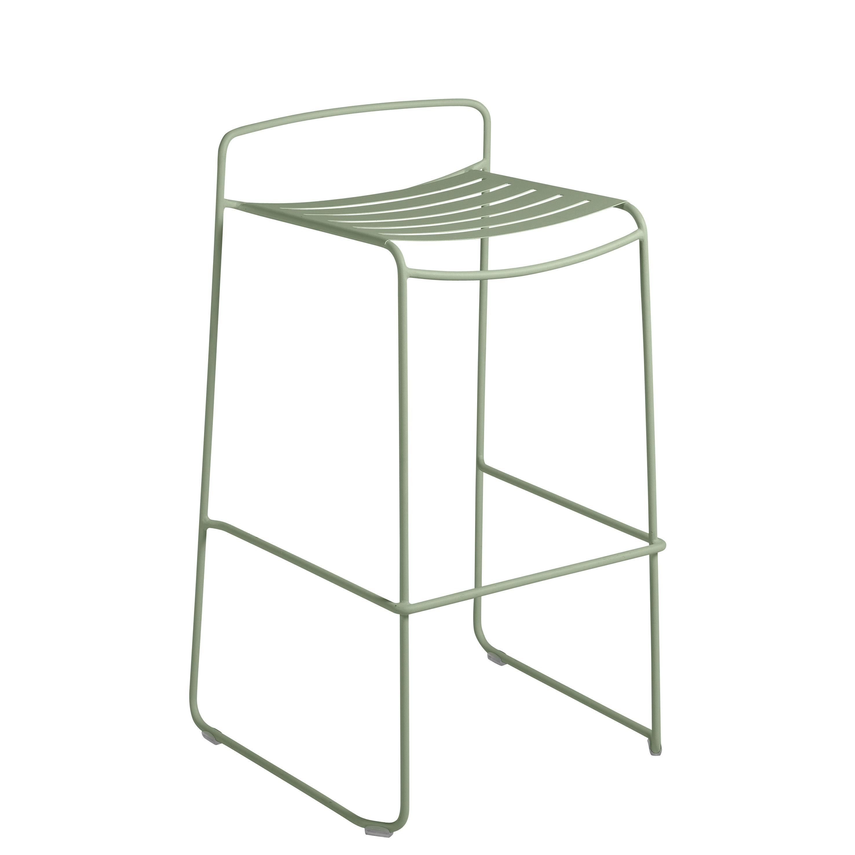 Möbel - Barhocker - Surprising Barhocker / Metall - H 78 cm - Fermob - Kaktus - bemalter Stahl