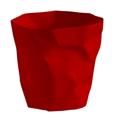 Decoration - Office - Bin Bin Mini Basket - H 25 x Ø 25 cm by Essey - Red - Polythene