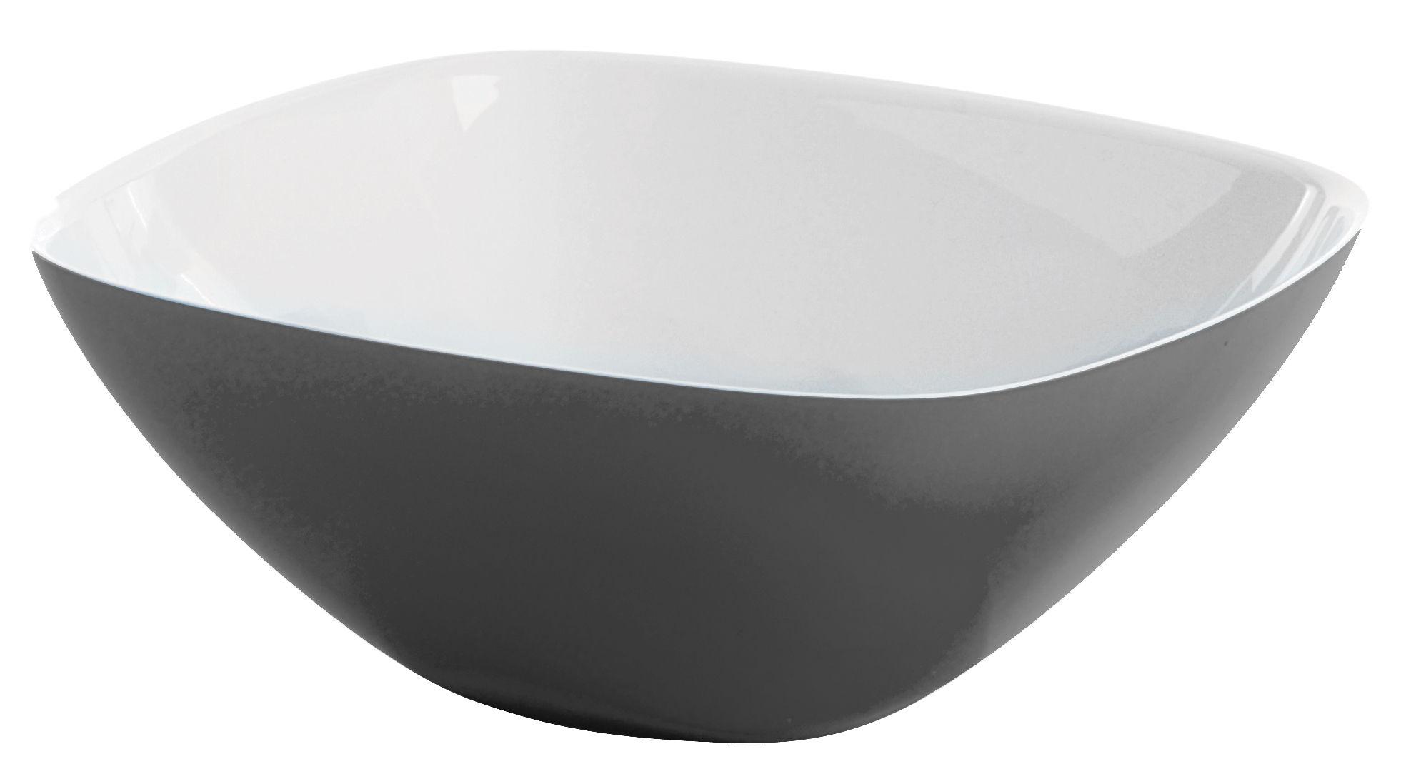 Arts de la table - Saladiers, coupes et bols - Bol Vintage / Ø 12 cm - Guzzini - Blanc - Gris - Plastique SAN