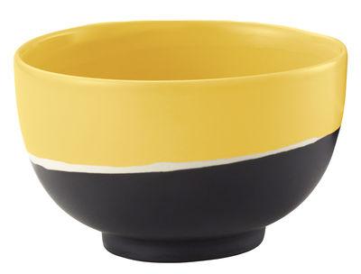 Coupelle Sicilia / Ø 8,5 cm - Maison Sarah Lavoine blanc,noir,tournesol en céramique