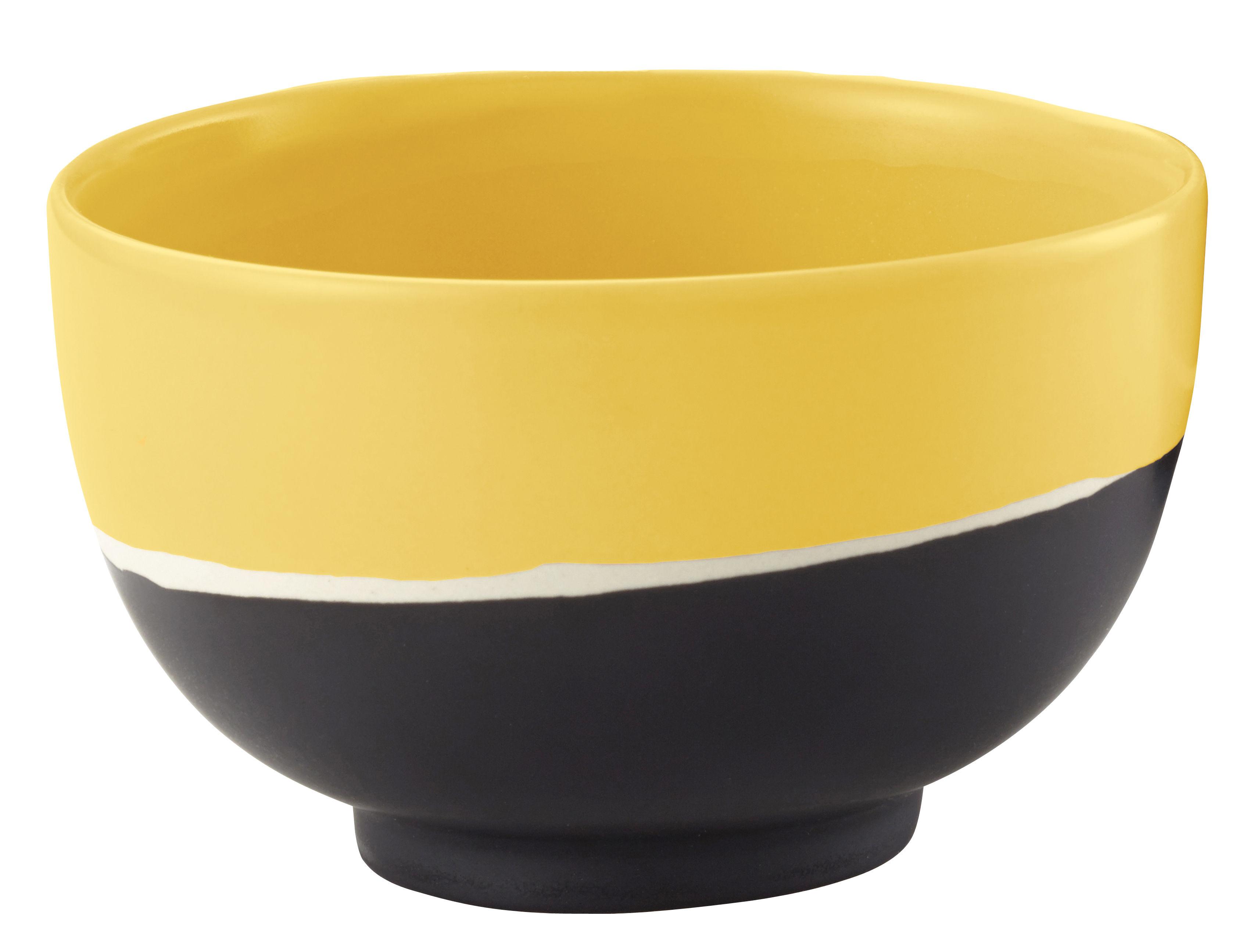 Cuisine - Saladiers, coupes et bols - Coupelle Sicilia / Ø 8,5 cm - Maison Sarah Lavoine - Tournesol - Grès peint et émaillé