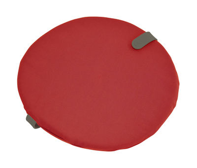 Galette de chaise Color Mix / Ø 40 cm - Fermob romarin,rouge candy en tissu