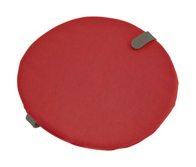 Galette de chaise Color Mix / Ø 40 cm - Fermob romarin,rouge candy en tissu