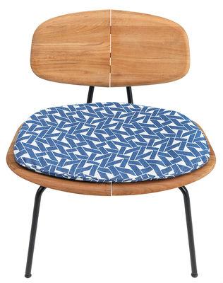 Kissen / Für Agave-Sessel niedrig - Ethimo - Blau
