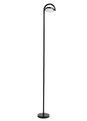 Lampadaire Marselis / Diffuseur orientable - H 126 cm - Hay noir en métal