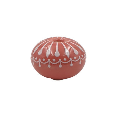 Tableware - Serving Plates - Lid handle - / For Ma Jolie Cocotte casserole dish by Cookut - Ceramic / Pink ball - Ceramic