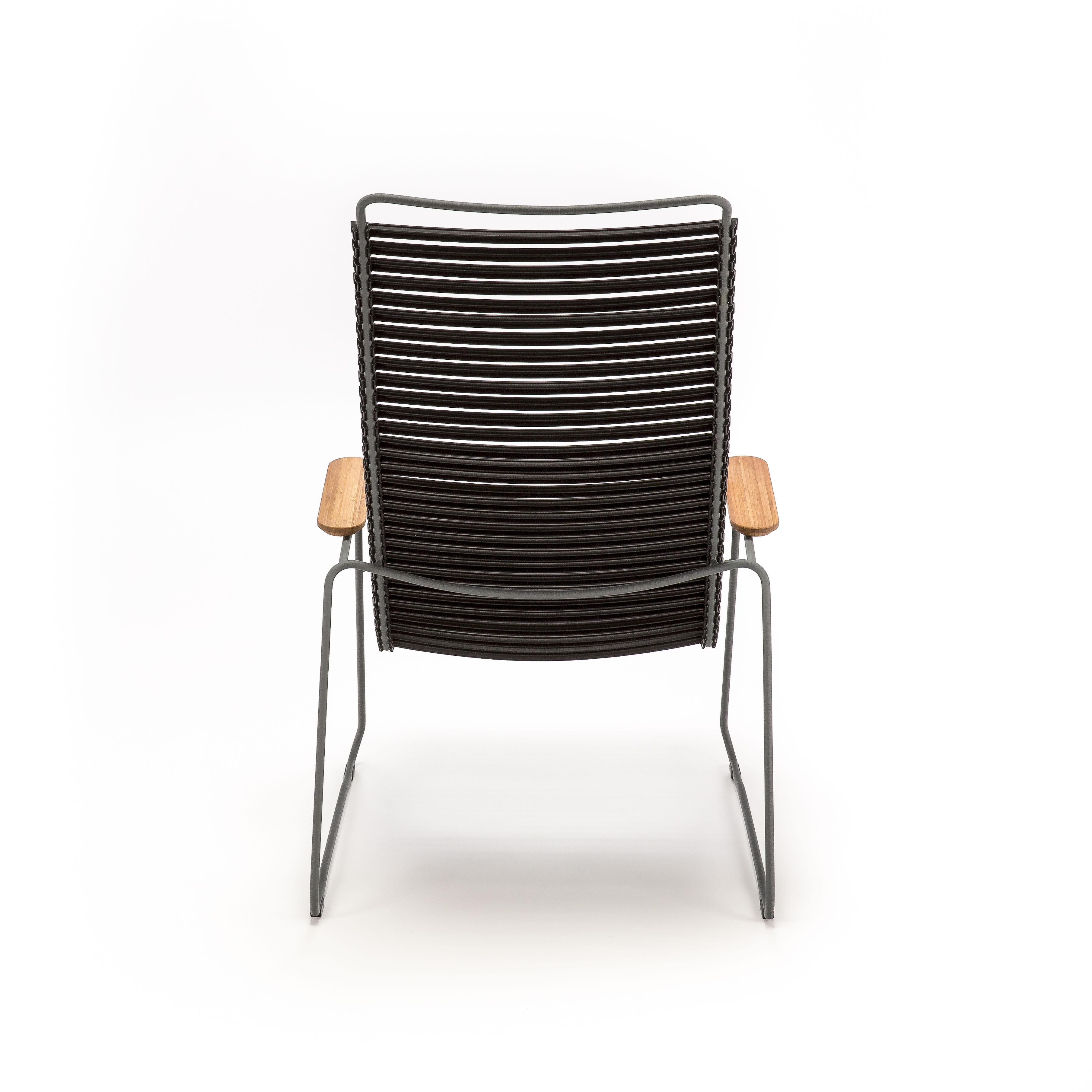 Low armchair Click Lounge by Houe - Black | Made In Design UK