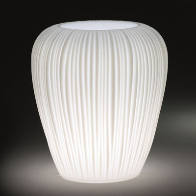 Lighting - Outdoor Lighting - Skin Small Luminous flowerpot by MyYour - White - Poleasy®
