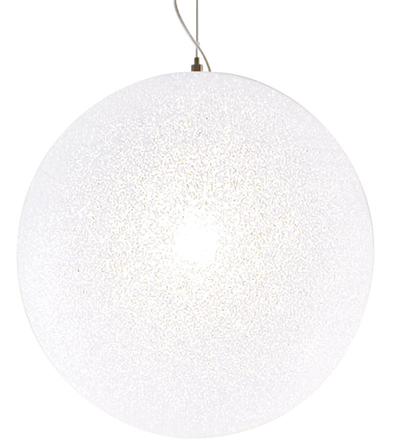 Leuchten - Pendelleuchten - IceGlobe Pendelleuchte Ø 45 cm - Lumen Center Italia - Ø 45 cm - weiß - Polykarbonat