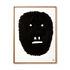 Poster incorniciato Pierre Charpin - Anxious Monkey - / Edizione limitata & numerata - 50,6 x 66,5 cm di The Wrong Shop
