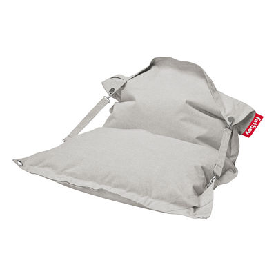Pouf Buggle-up Outdoor / Sangles ajustables - Tissu Olefin - Fatboy L 190 x Larg 140 cm beige en tissu