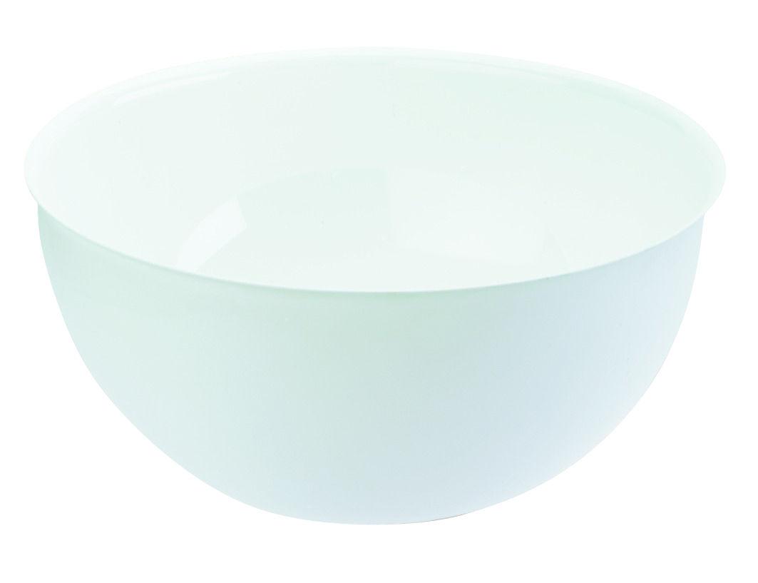Tischkultur - Platten - Palsby Large Salatschüssel Ø 28 cm - Koziol - Weiß - Plastik