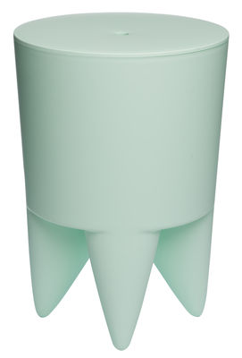 Furniture - Stools - New Bubu 1er Stool - / Box - Plastic by XO - Pale Green - Polypropylene