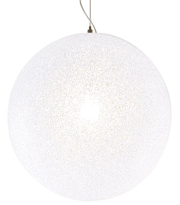 Luminaire - Suspensions - Suspension IceGlobe Ø 45 cm - Lumen Center Italia - Ø 45 cm - Blanc - Polycarbonate