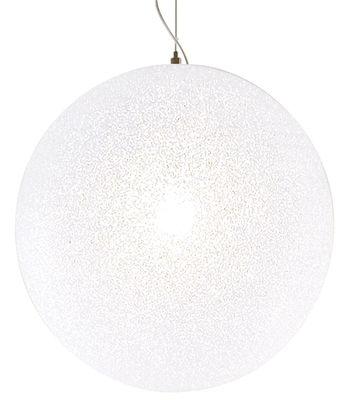 Suspension IceGlobe Ø 45 cm - Lumen Center Italia blanc en matière plastique