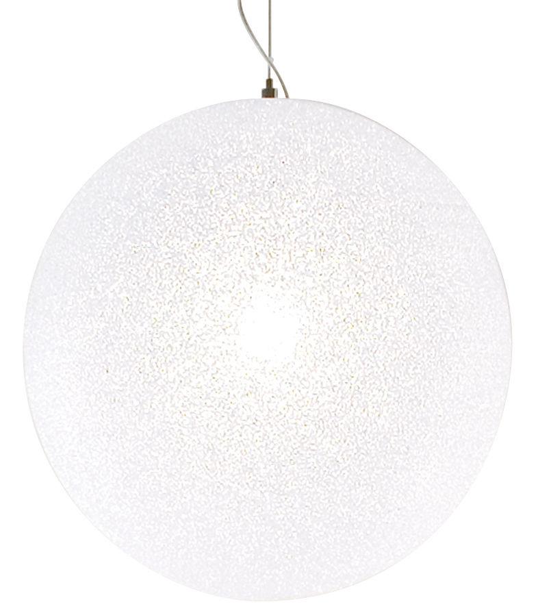 Luminaire - Suspensions - Suspension IceGlobe Ø 45 cm - Lumen Center Italia - Ø 45 cm - Blanc - Polycarbonate
