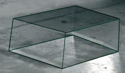 Table basse Wireframe 60 x 57 cm - Glas Italia vert/transparent en verre