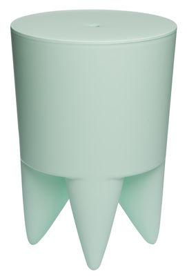Mobilier - Tabourets bas - Tabouret New Bubu 1er / Coffre - Plastique - XO - Vert pâle - Polypropylène
