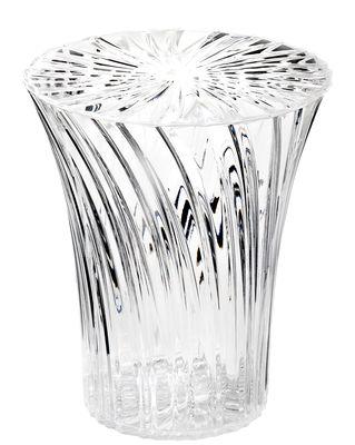 Mobilier - Tabourets bas - Tabouret Sparkle / Plastique - Kartell - Cristal - PMMA