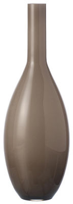 Vase Beauty H 39 cm - Leonardo beige en verre