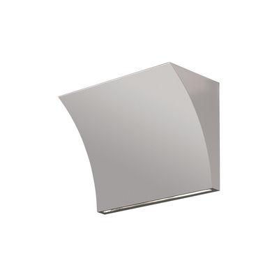 Lighting - Wall Lights - Pochette Up / Down LED Wall light - / Up & down lighting by Flos - Grey - Alliage de Zamak