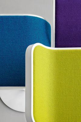 Lem Adjustable Bar Stool Fabric Pivoting Seat Lacquered
