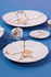Assiette à dessert Kintsugi / Porcelaine & or fin - Seletti