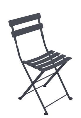 Chaise enfant Tom Pouce / Pliante - Acier - Fermob carbone en métal