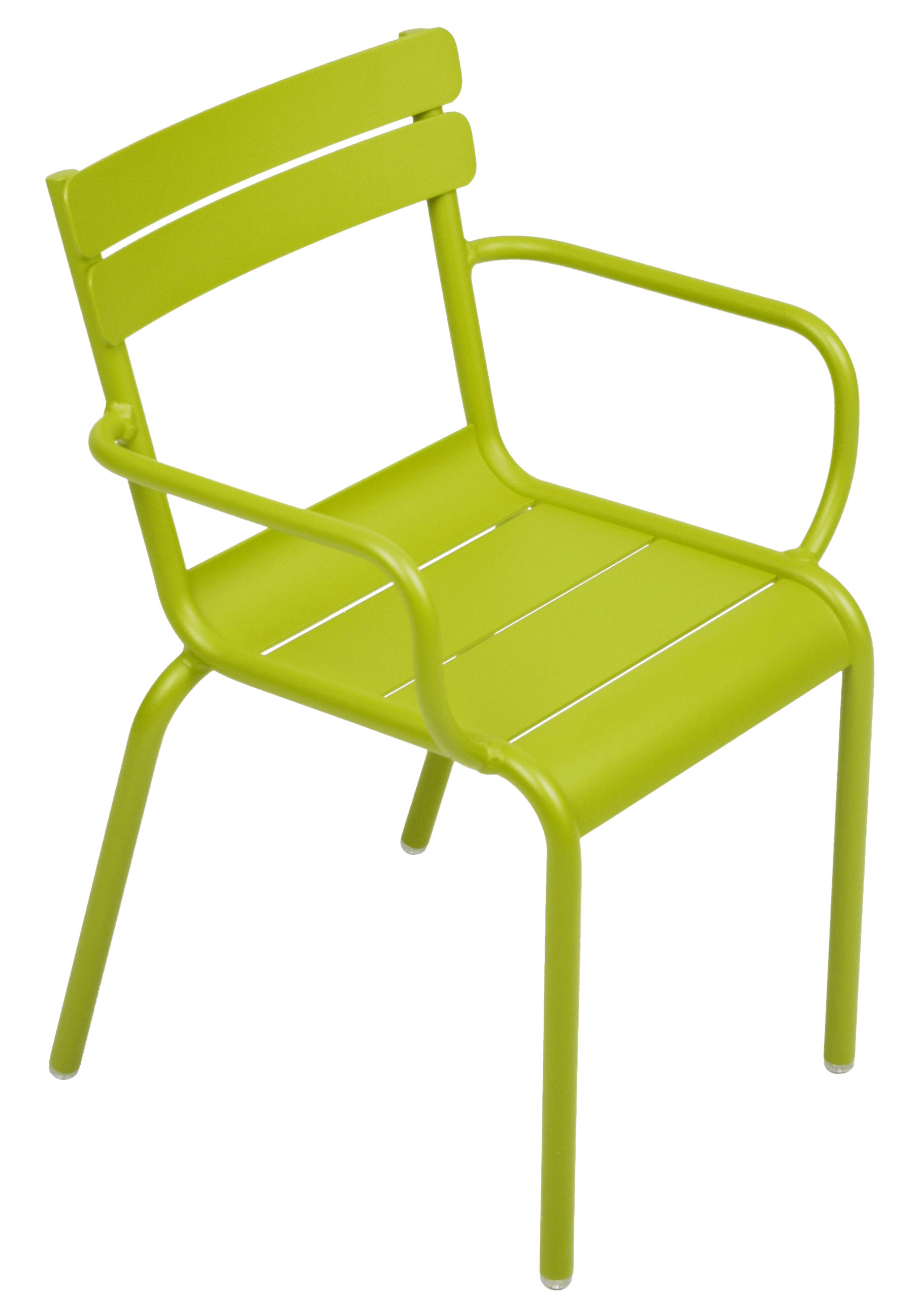Furniture - Kids Furniture - Luxembourg Kid Children armchair by Fermob - Verbena Green - Lacquered aluminium