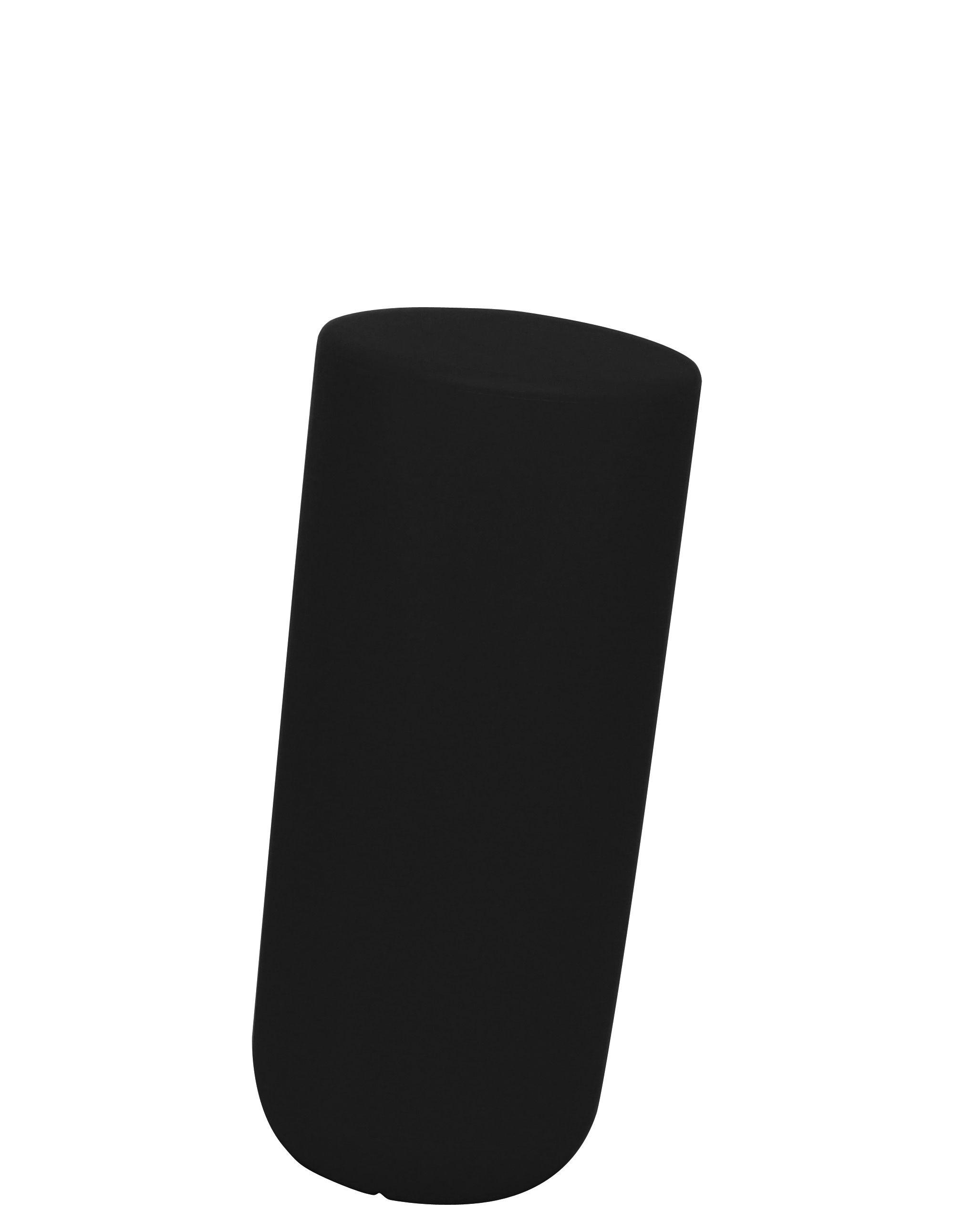 Möbel - Möbel für Teens - Sway Hocker H 50 cm - Thelermont Hupton - Schwarz - Polyäthylen